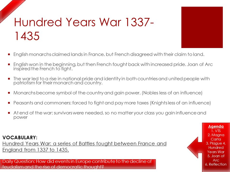 With the decline of feudalism who gained more power in europe — pic 1