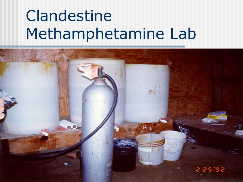 Methamphetamine and the Work Place North Dakota Office of