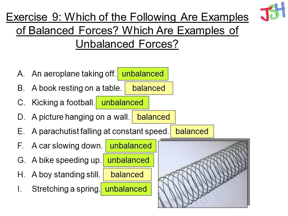 Worksheet. Balanced And Unbalanced Forces Worksheet. Caytailoc ...