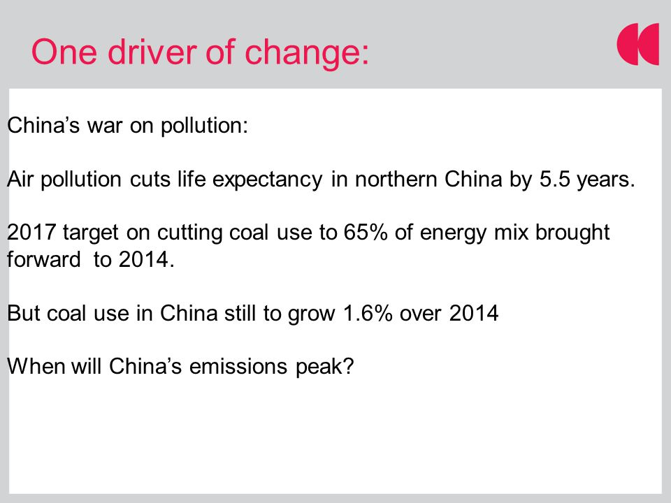 China's war on pollution: Air pollution cuts life expectancy in northern China by 5.5 years.