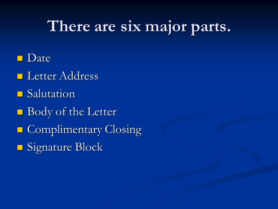 Business Letter Format Business Letter Format Blockblock Or Modified