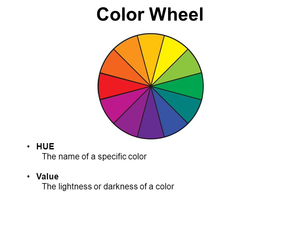 Hello Art 8 Something To Write With Your Color Theory Worksheets