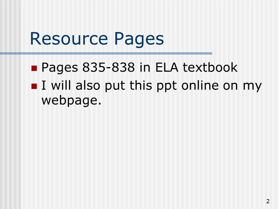 Creating A Business Letter 8 Th Grade Ela Resource Pages Pages In