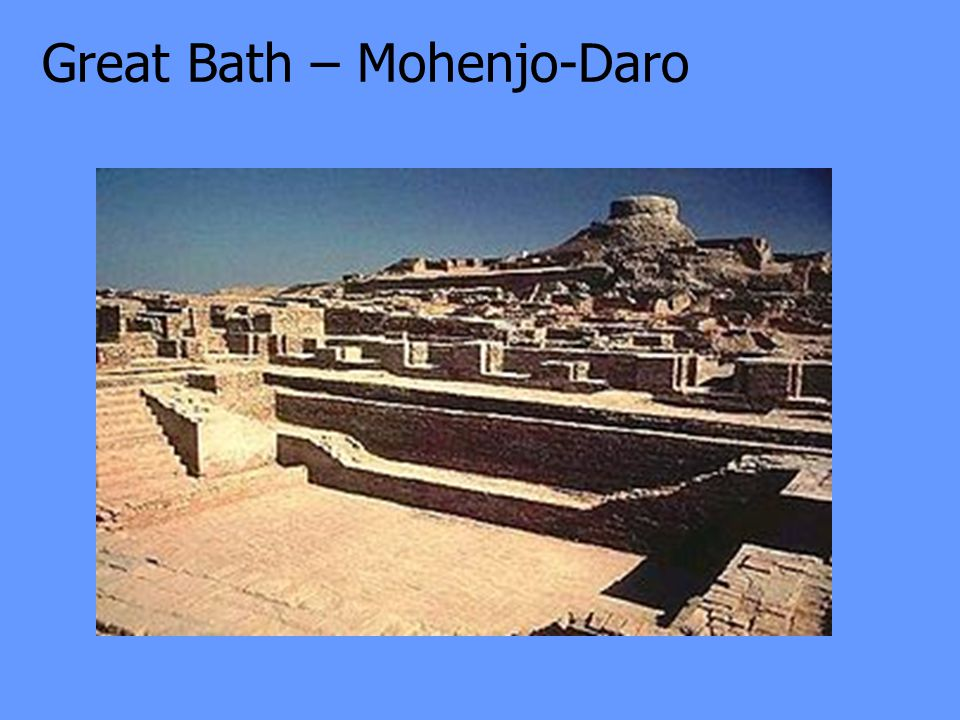 Great Bath – Mohenjo-Daro