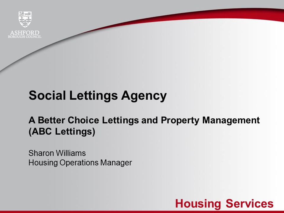 Housing Services Social Lettings Agency A Better Choice Lettings And