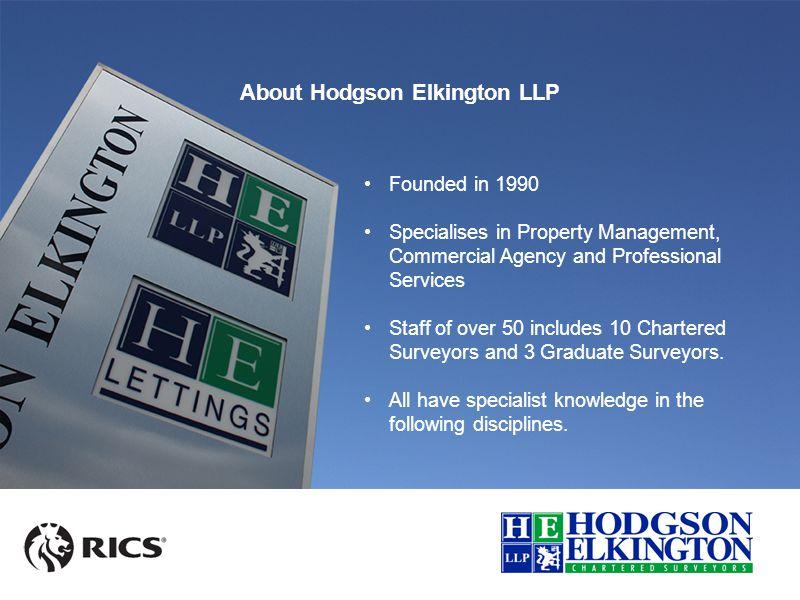 Hodgson Elkington Llp Lincolnshire Construction Network Ppt