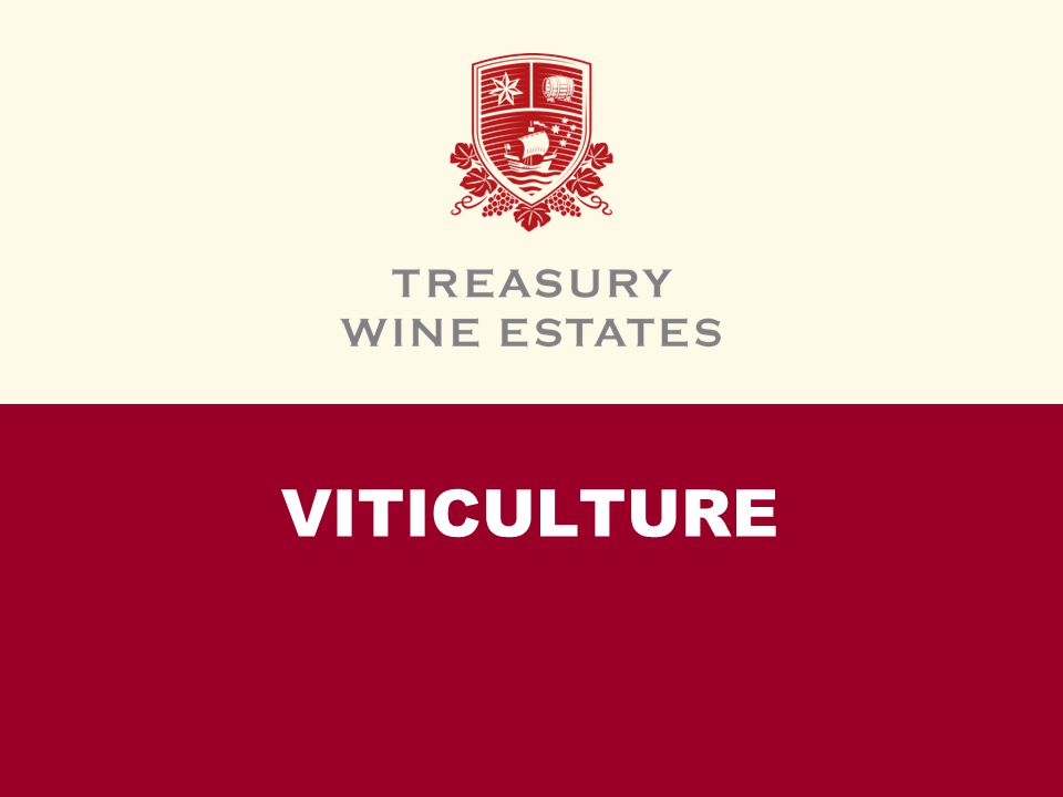 VITICULTURE. INTRODUCTION In this module, we will introduce the ...