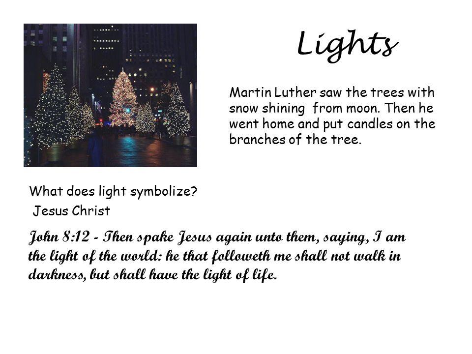 Christmas Symbols Tree Evergreen Tree Was Chosen As Christmas Tree