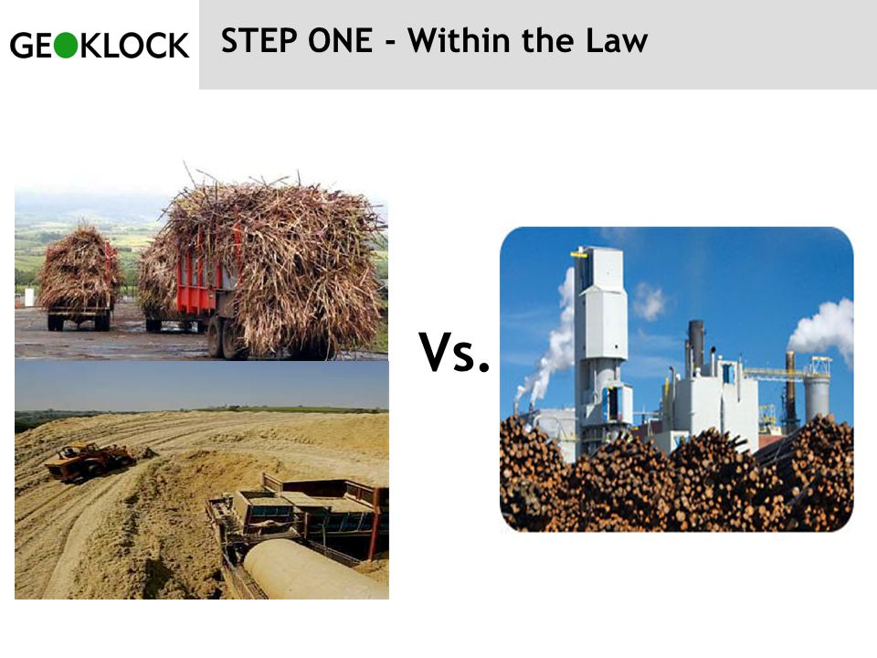 STEP ONE - Within the Law Vs.
