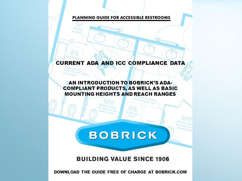 Bobrick restroom planning guide.