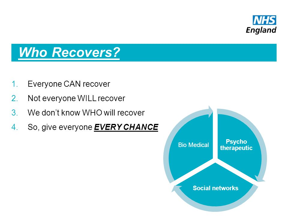 Who Recovers.