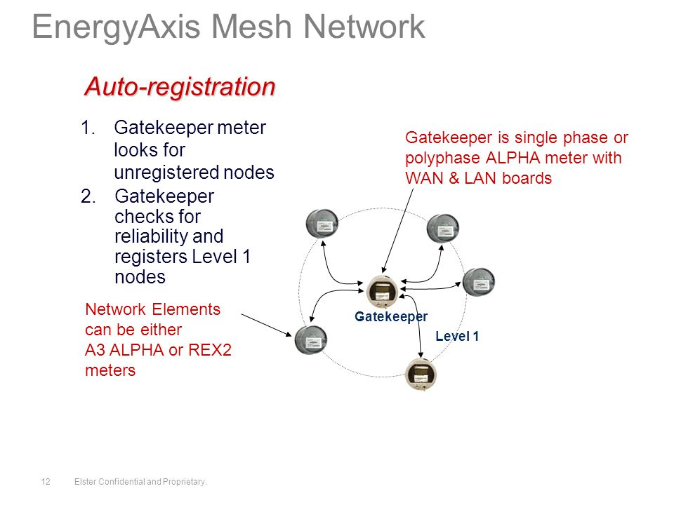 2010 by Elster. All rights reserved.. Elster Confidential and ... A Alpha Meter Wiring Diagram on