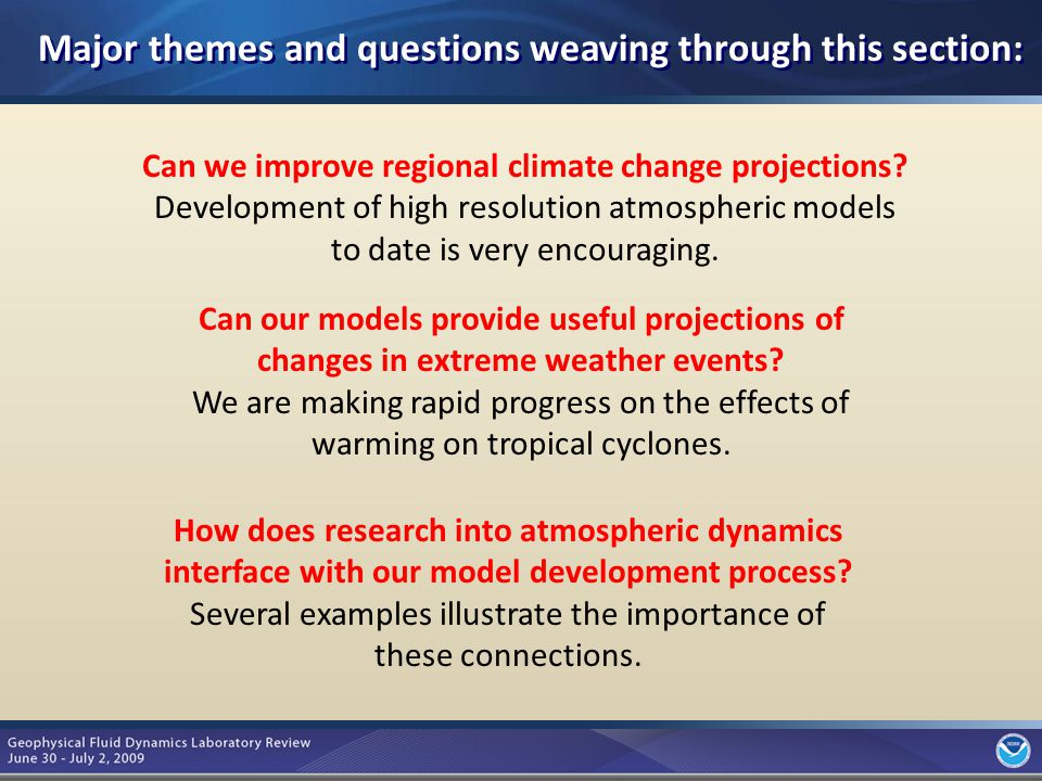 3 Can we improve regional climate change projections.