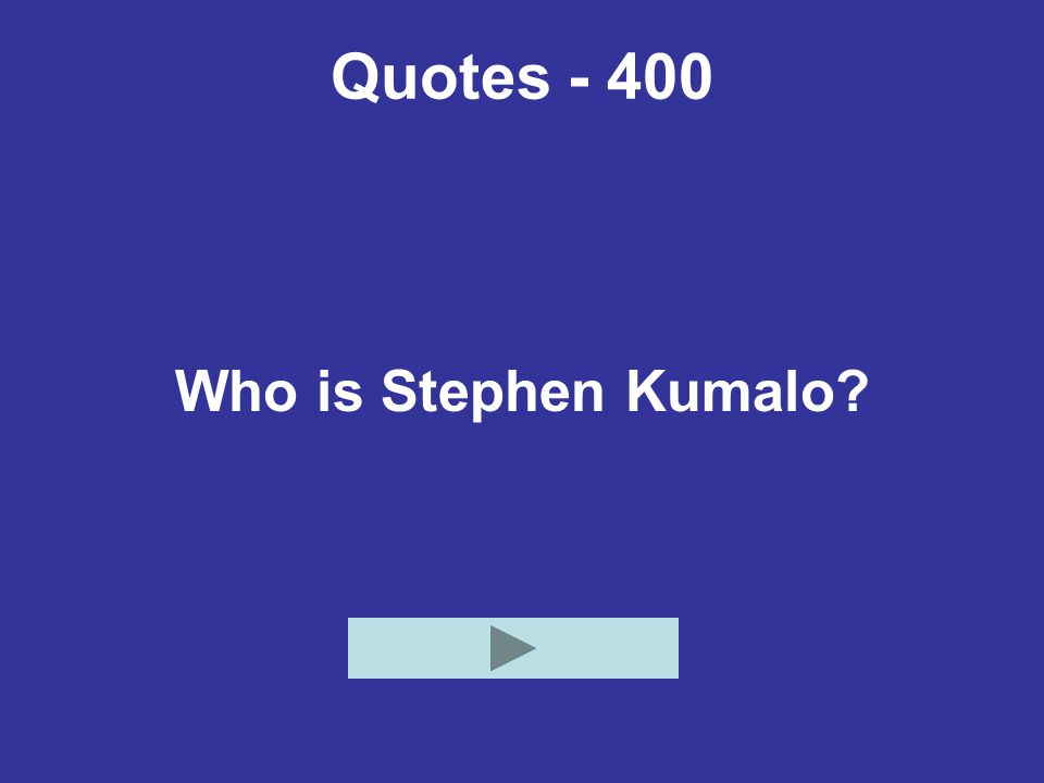 Quotes - 400 Who is Stephen Kumalo