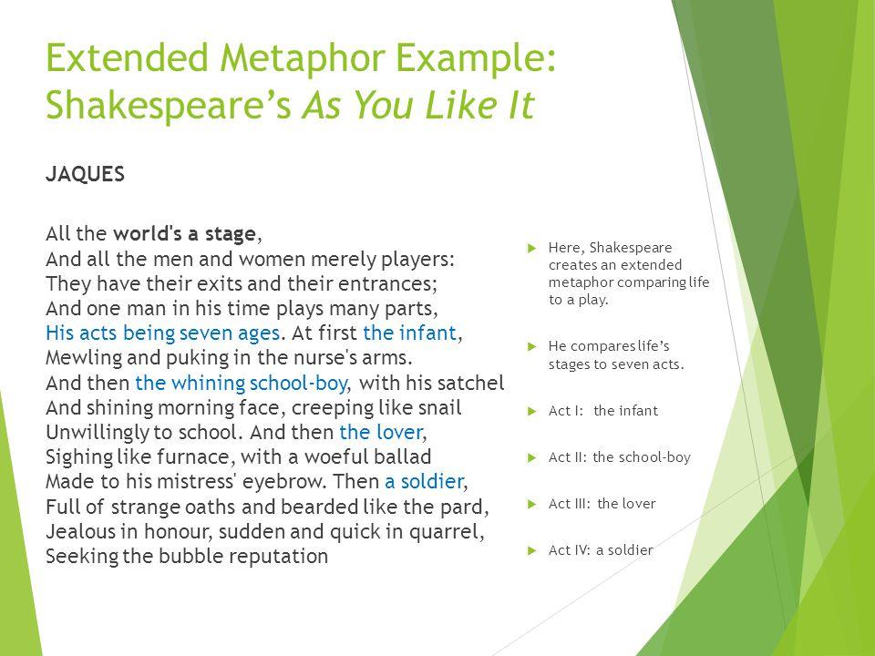 Extended Metaphor Extended Metaphor Defined An Extended Metaphor
