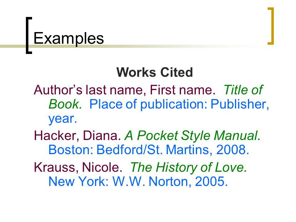 citing a manual in mla browse manual guides u2022 rh trufflefries co MLA Bibliography cite a manual mla