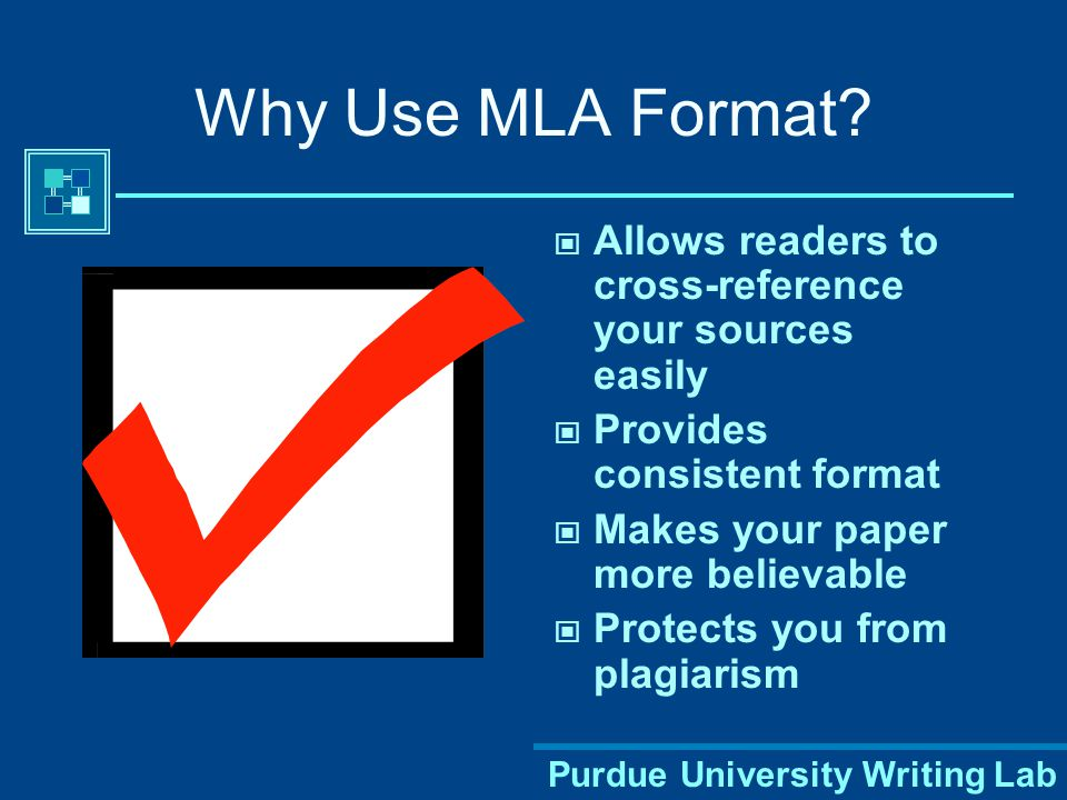 What is MLA Format.