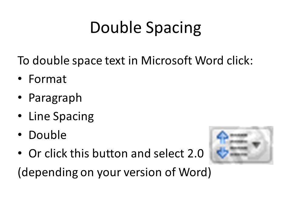 mla formatting microsoft word