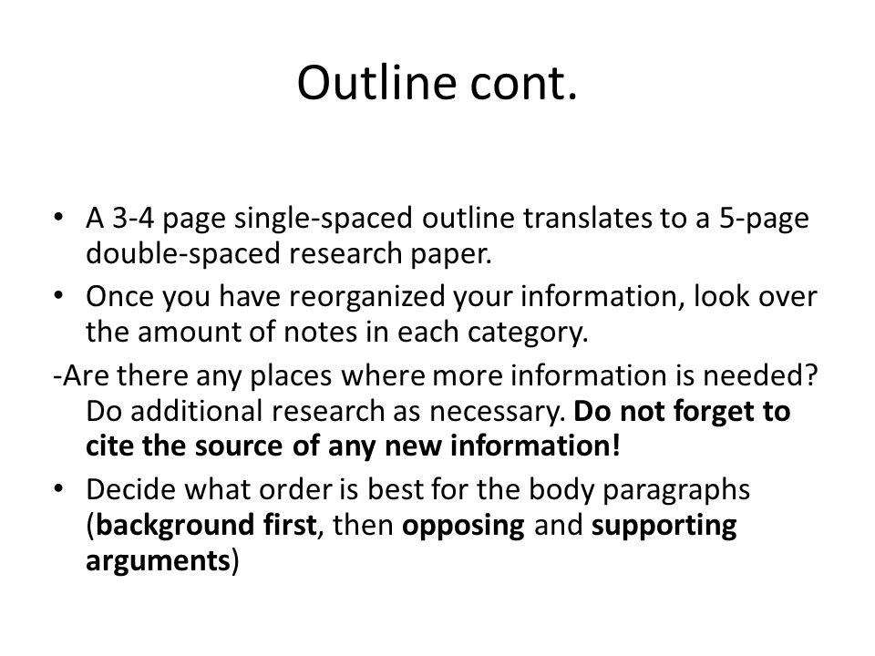 Senior Project Outline Turn To Page 19 In Your Handbook Take Out