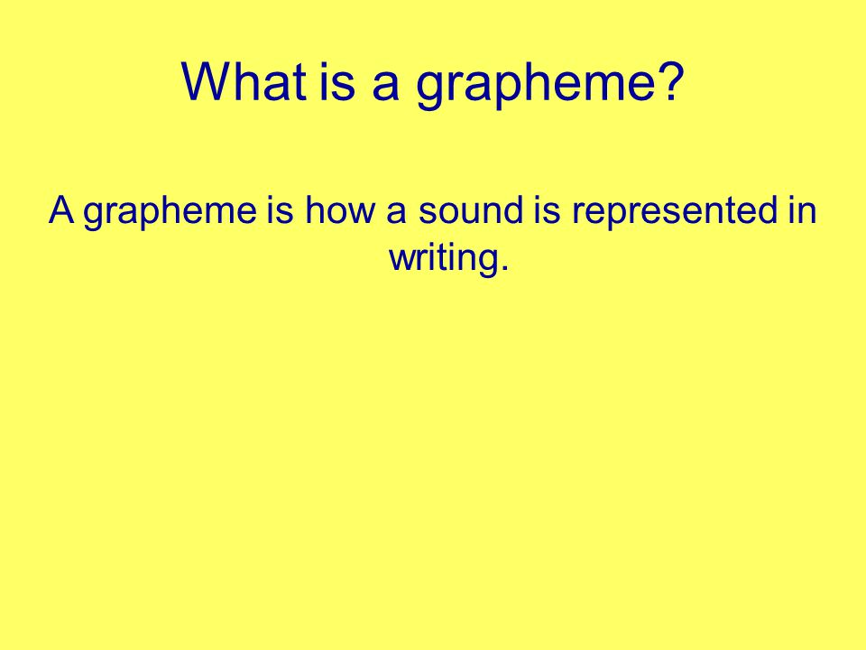 What is a phoneme A phoneme is a unit of sound. c a t...