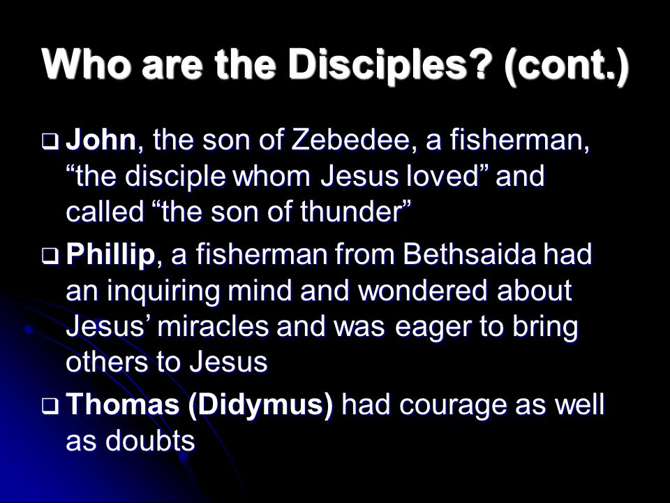 who are jesus disciples today