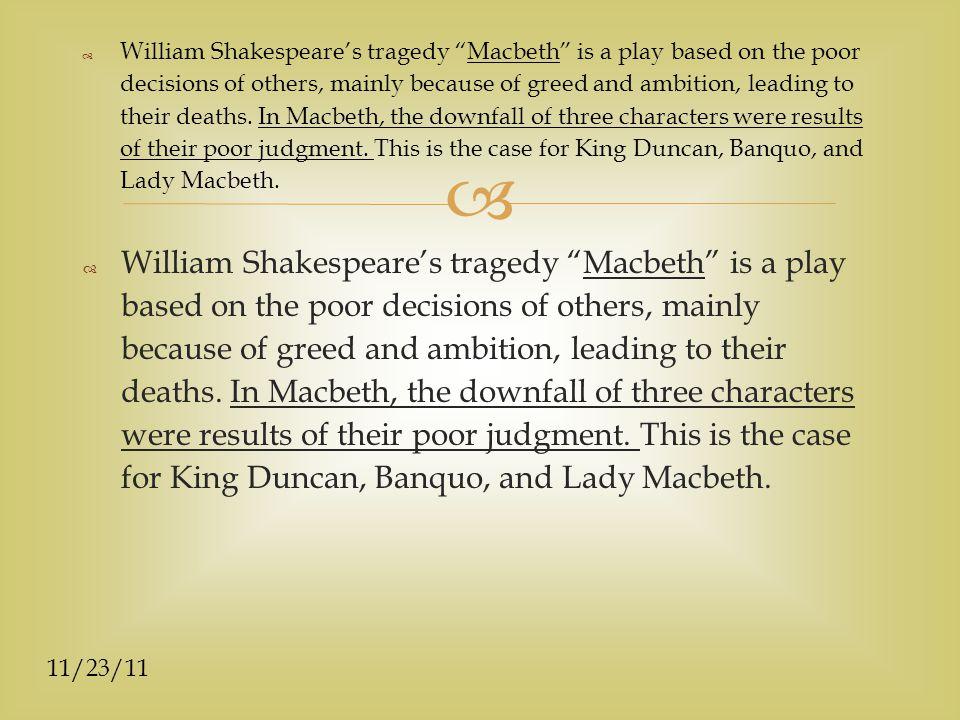 Click To Edit Master Subtitle Style 11 23 11 Macbeth Essay