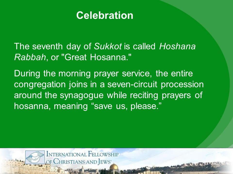 hoshana rabbah meaning