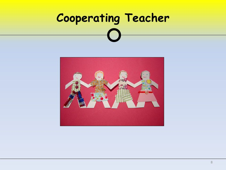Cooperating Teacher 8