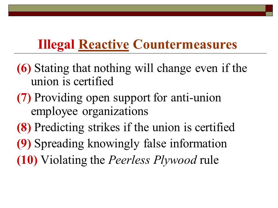 Mgmt 583 Chapter 6: Union Organizing Fall Factors Conducive