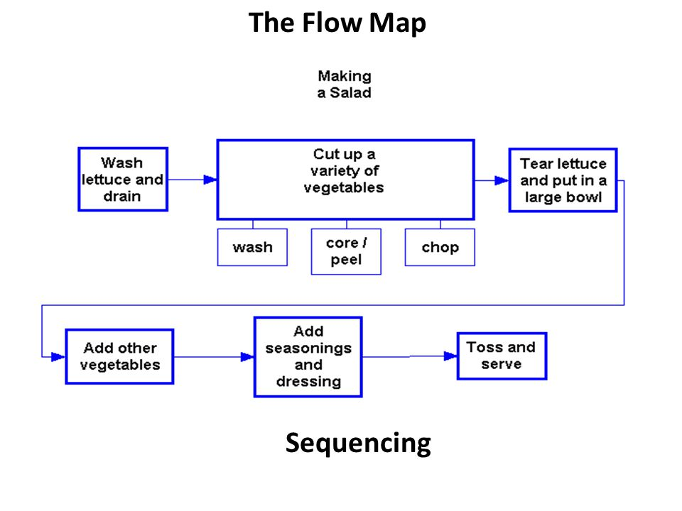 Sequencing The Flow Map