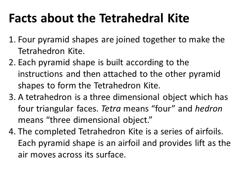 Facts about the tetrahedral kite 1ur pyramid shapes are joined facts about the tetrahedral kite 1ur pyramid shapes are joined together to make the maxwellsz
