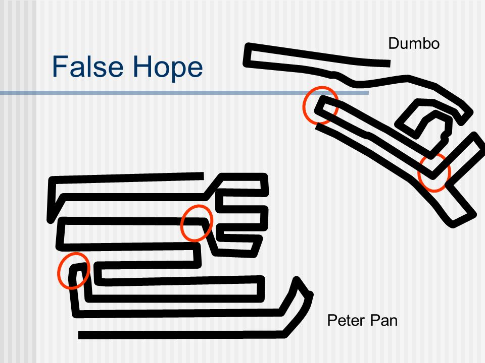 False Hope Dumbo Peter Pan