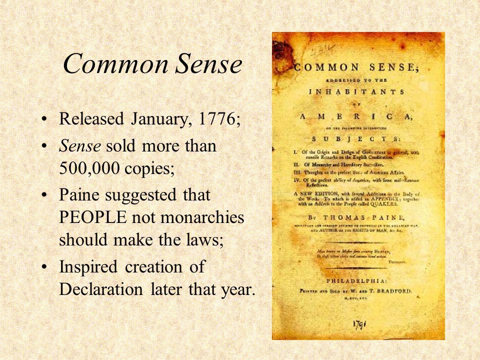 common sense 1776