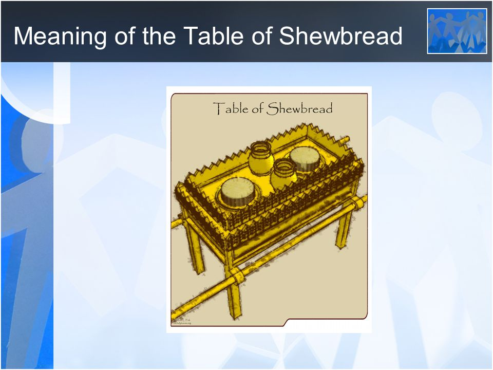 Phenomenal The Table Of Showbread Fellowship Through The Bread Ppt Download Free Architecture Designs Scobabritishbridgeorg
