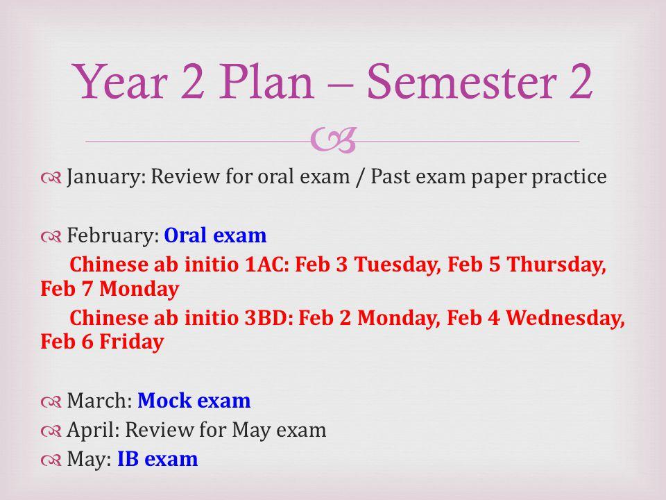 ib chinese ab initio exam paper