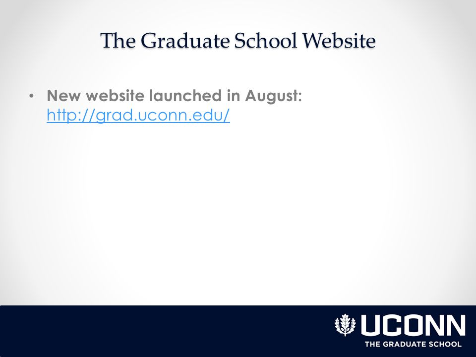 New website launched in August: