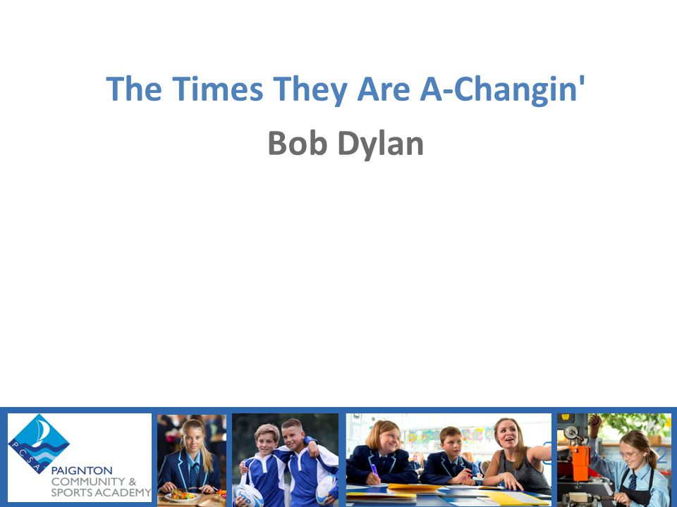 The Times They Are A-Changin Bob Dylan 2