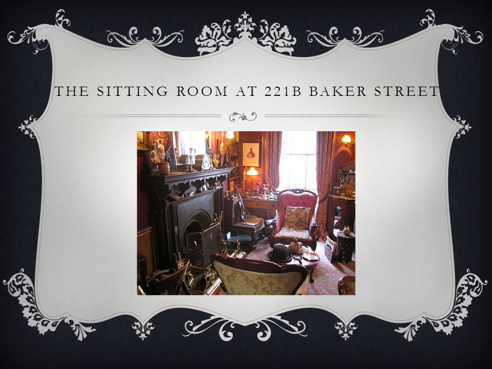 THE SITTING ROOM AT 221B BAKER STREET
