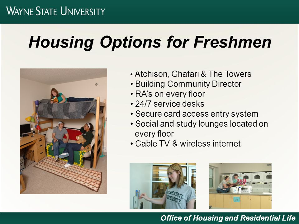 Office Of Housing Residential Life Office Of Housing And