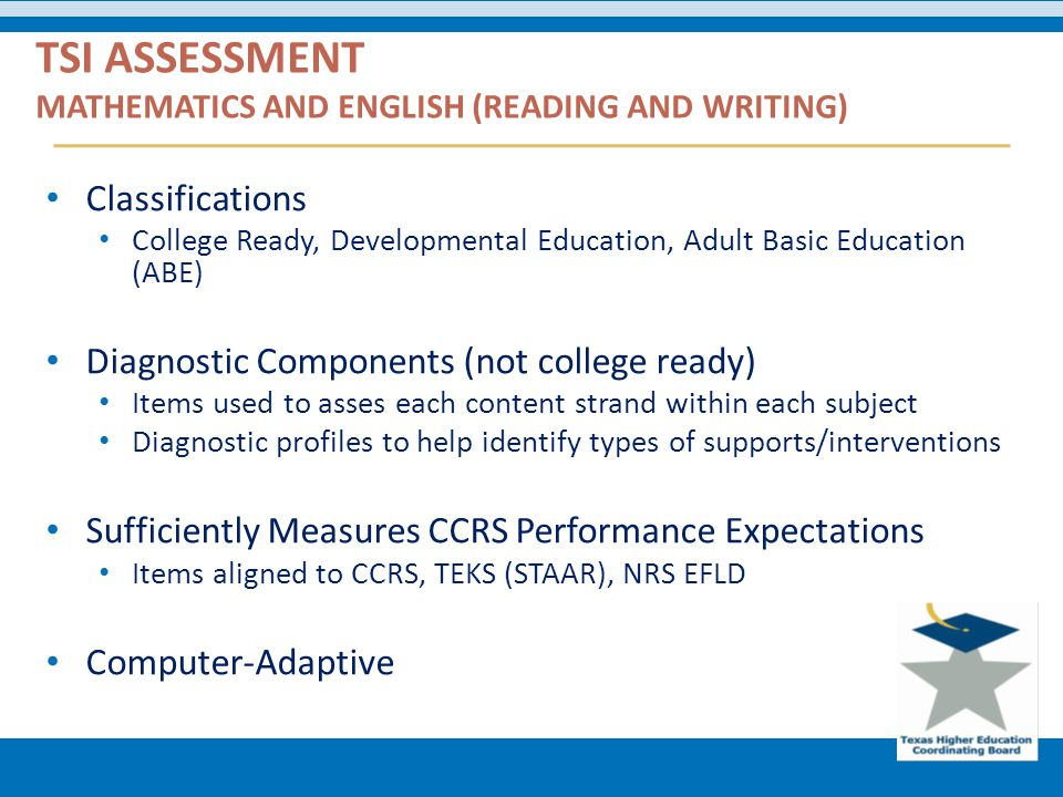 Useful piece adult assessment basic education texas sorry