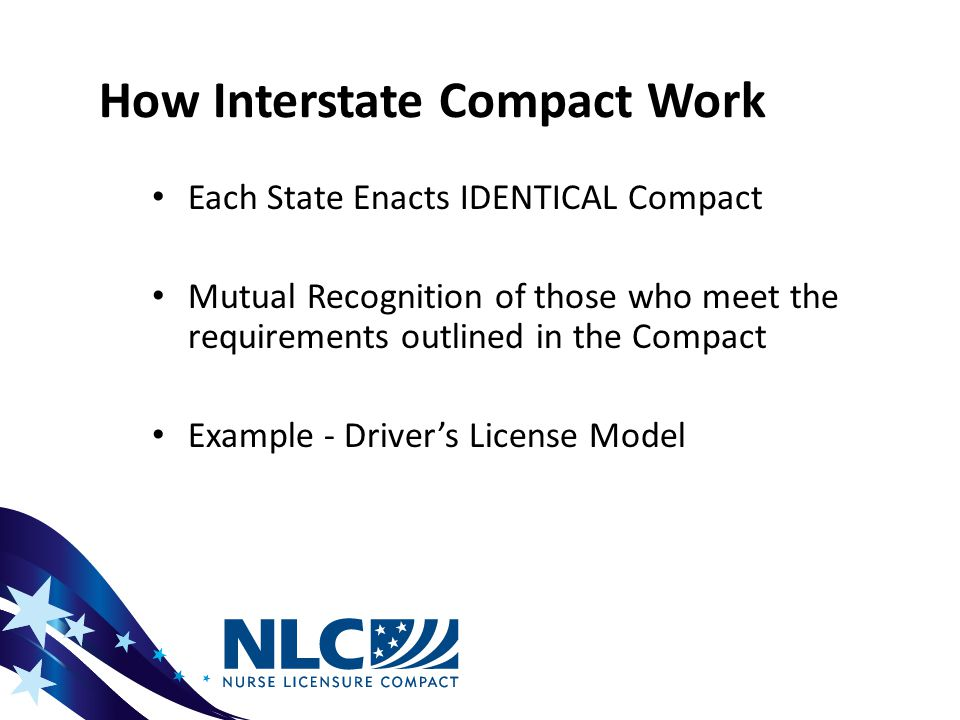Interstate Compact Example