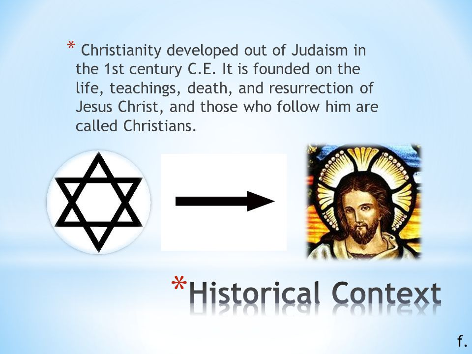 christianity origin