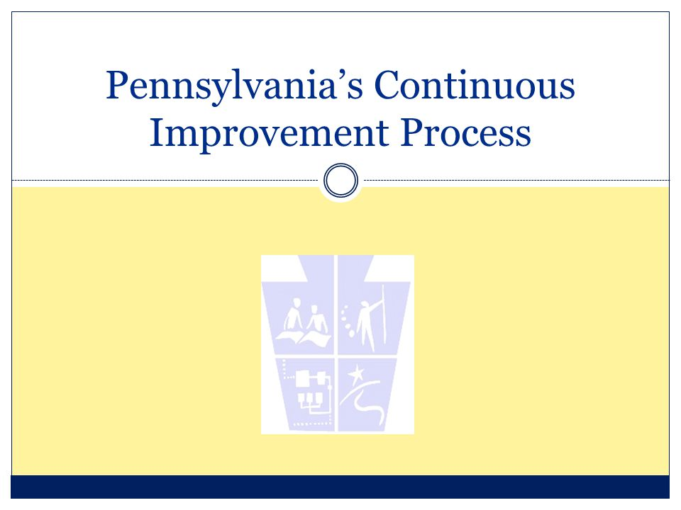 Pennsylvania's Continuous Improvement Process