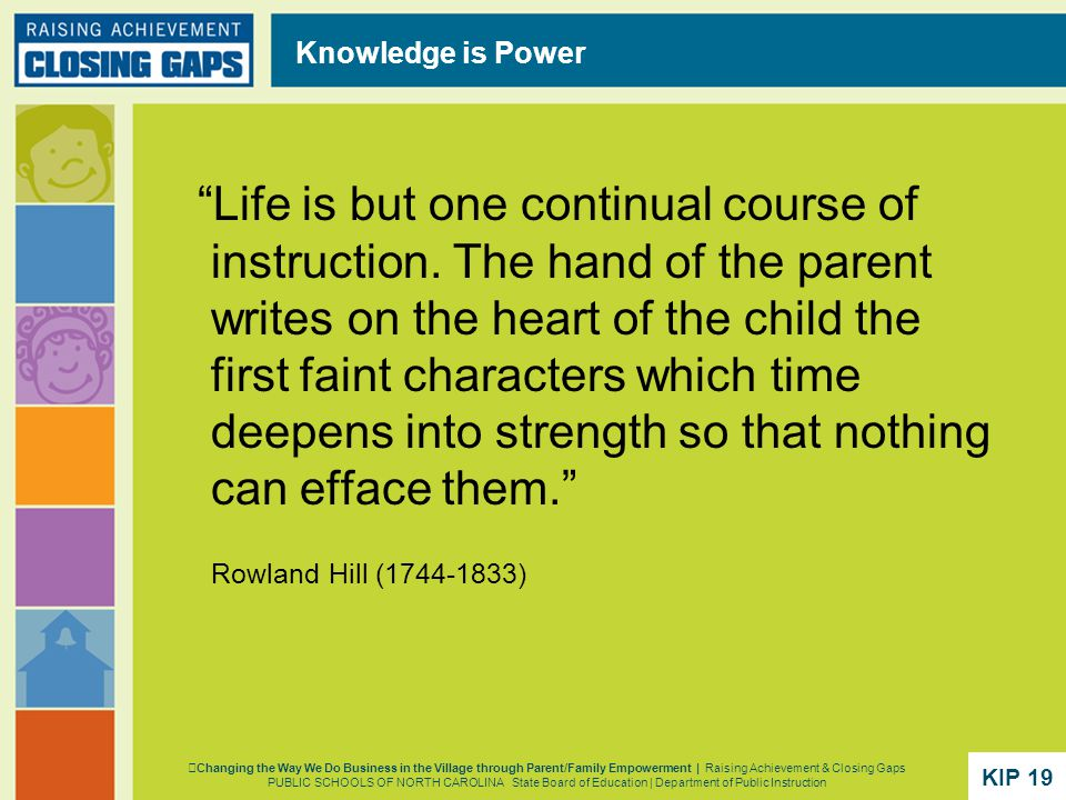 Life is but one continual course of instruction.