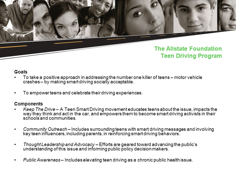 Teen Smart Driving >> Building A Long Term Movement To Incite Attitudinal And