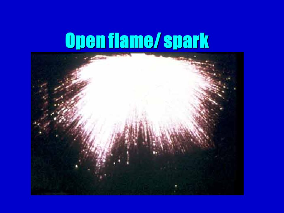 Open flame/ spark