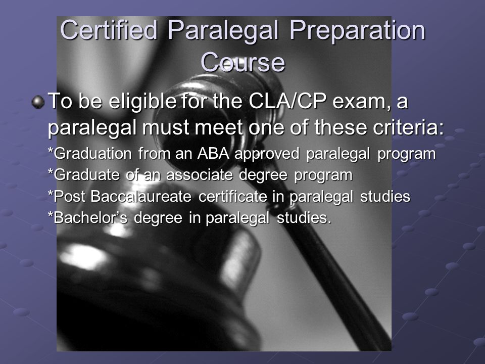 Paralegal Program South Campus Omaha Ne The American Bar