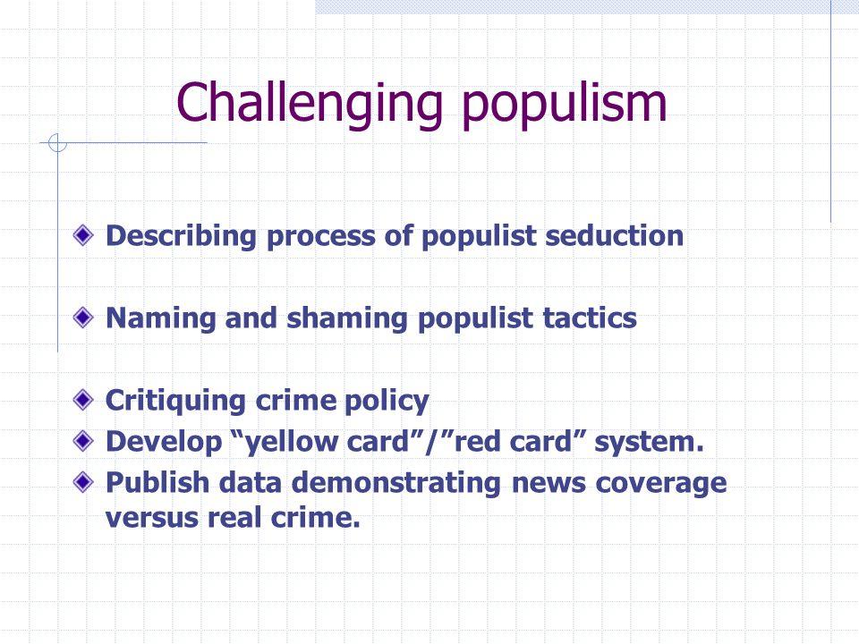 penal populism definition
