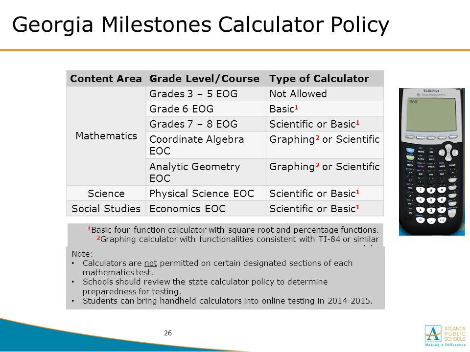 DRAFT Georgia Milestones Assessment System Joe Blessing 2/18/ ppt ...