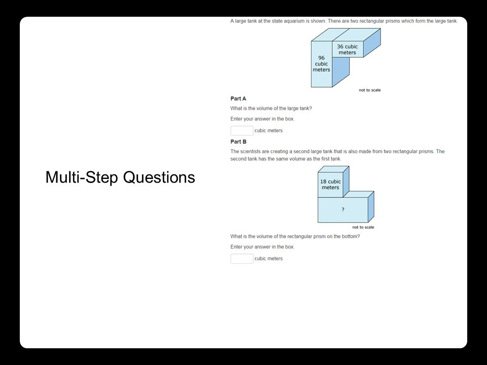 Multi-Step Questions